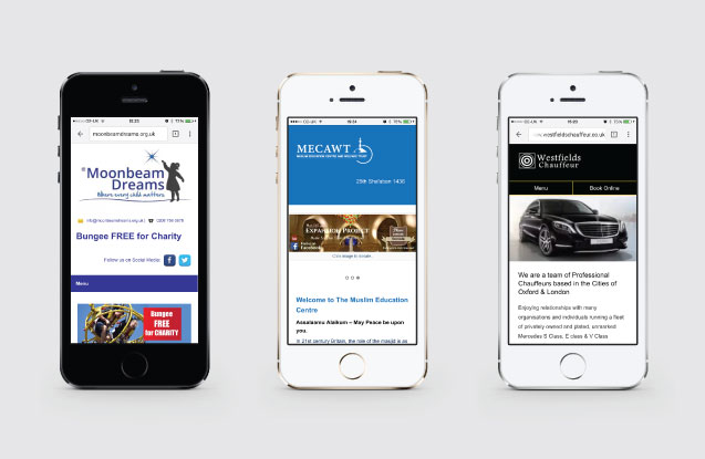Mobile Websites - Responsive