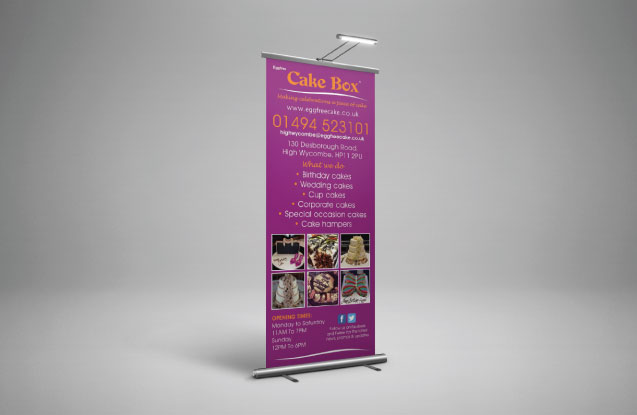 Roller Banners designed and printed