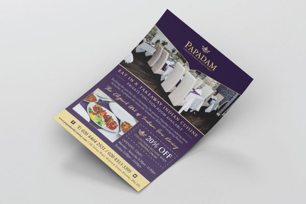 Flyer and Leaflet Design High Wycombe